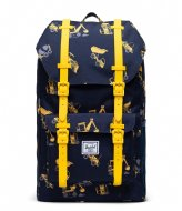 Herschel Supply Co. Little America Youth 13 Inch Construction Zone (04070)