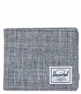 Herschel Supply Co. Roy Coin Wallet RFID Raven Crosshatch (00919)