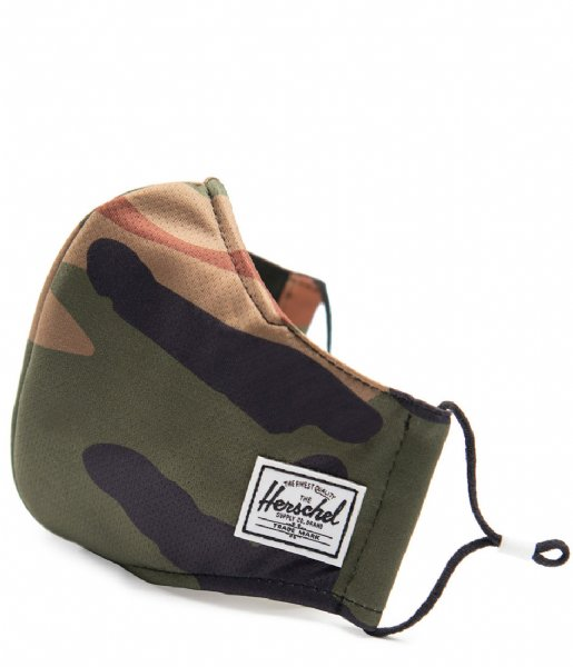 Herschel Supply Co. Mondkapje Classic Fitted Face Mask woodland camo (04781)