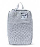 Herschel Supply Co. Sinclair Large light grey crosshatch (01866)