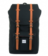 Herschel Supply Co. Little America 15 Inch black & tan PU