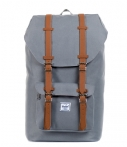 Herschel Supply Co.-Laptoptassen-Little America -Grijs