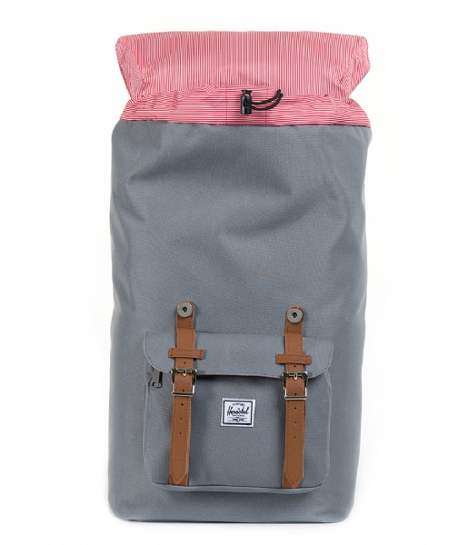 Herschel Supply Co. Laptop rugzak Little America 15 Inch grey & tan (00006)
