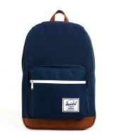 Herschel Supply Co. Pop Quiz 15 inch navy & tan PU
