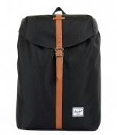 Herschel Supply Co. Post black & tan PU