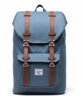 Herschel Supply Co. Little America Mid-Volume 13 Inch blue mirage crosshatch (03513)