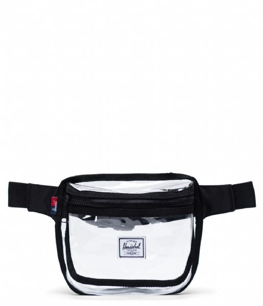 Herschel Supply Co. Heuptas Fifteen Clear Bags black clear (03822)
