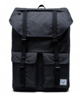 Herschel Supply Co. Buckingham black crosshatch (02090)