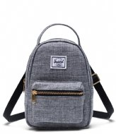 Herschel Supply Co. Nova Crossbody raven crosshatch (00919)