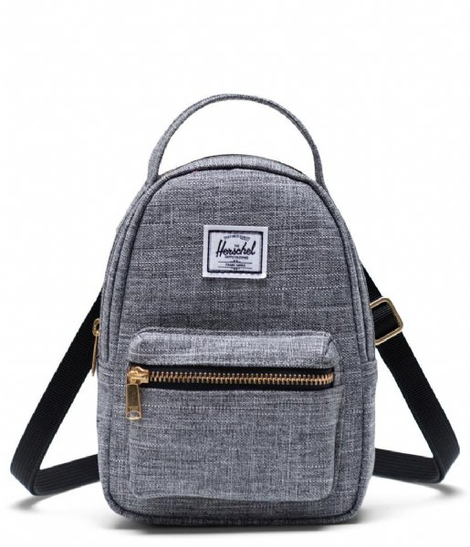 Herschel Supply Co. Crossbodytas Nova Crossbody raven crosshatch (00919)