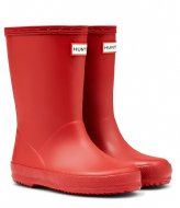 Hunter Boots Kids First Classic military red