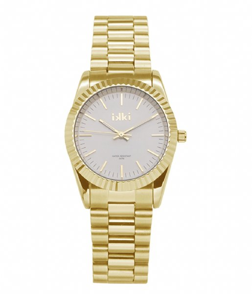 IKKI Horloge Watch Bronx gold plated (BX07)