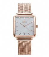 IKKI Watch Tenzin Rose Gold Plated rose gold plated white pearl (TE08)