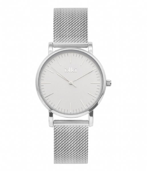 IKKI Horloge Watch Rose Silver Plated silver plated (rse01)