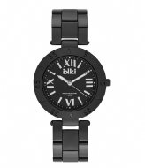 IKKI Watch Paige black silver (PG03)