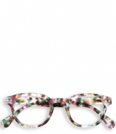 Izipizi #C Reading Glasses green tortoise soft
