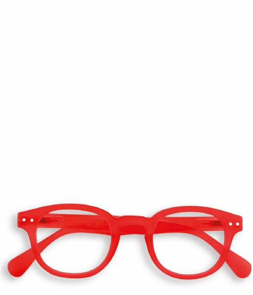 Izipizi Leesbril #C Reading Glasses red crystal soft