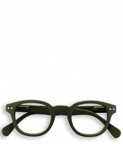 Izipizi Leesbril #C Reading Glasses kaki green