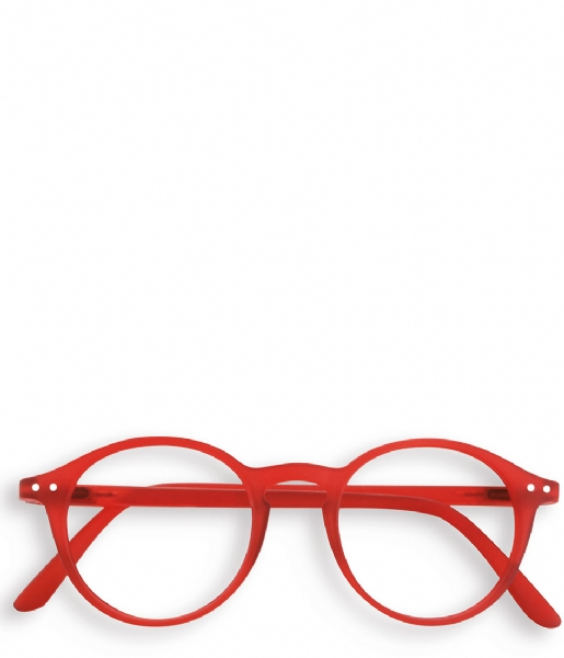 Izipizi Leesbril #D Reading Glasses red crystal soft