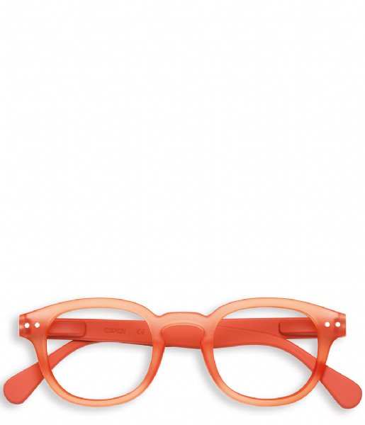 Izipizi Leesbril #C Reading Glasses warm orange