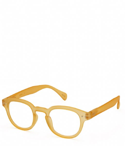 Izipizi Leesbril #C Reading Glasses yellow honey