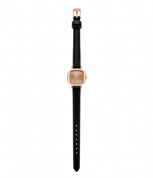 KOMONO Horloge Moneypenny black rose colored (1233)