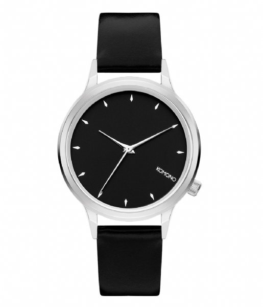 KOMONO Horloge Lexi black silver colored (2755)