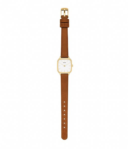 KOMONO Horloge Watch Kate Gold Colored gold colored tan (W4253)