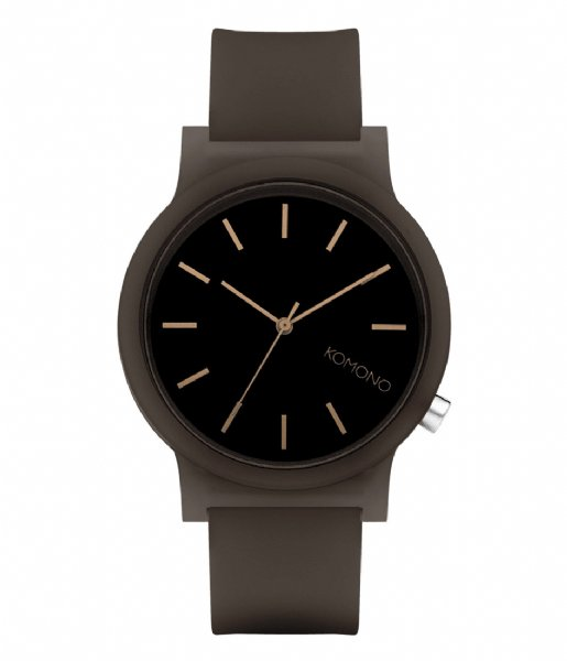 KOMONO Horloge Watch Mono Glow black (W4304)