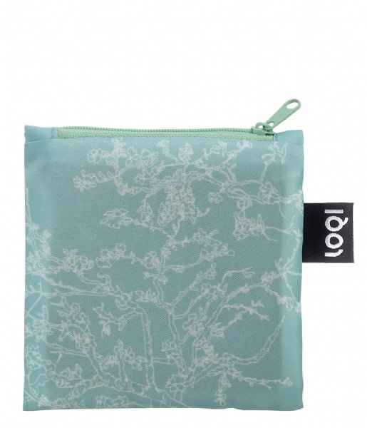 LOQI Shopper Foldable Bag Museum Collection almond blossom