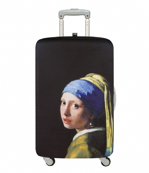 LOQI Kofferhoes Luggage Cover Museum Collection girl with a pearl earring