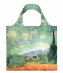 LOQI-Handtassen-Foldable Bag Museum Collection-Groen