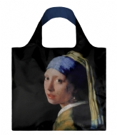 LOQI Foldable Bag Museum Collection girl with a pearl earring