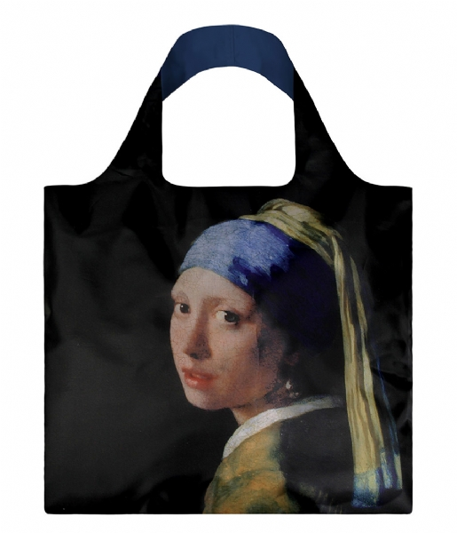 LOQI Shopper Foldable Bag Museum Collection girl with a pearl earring