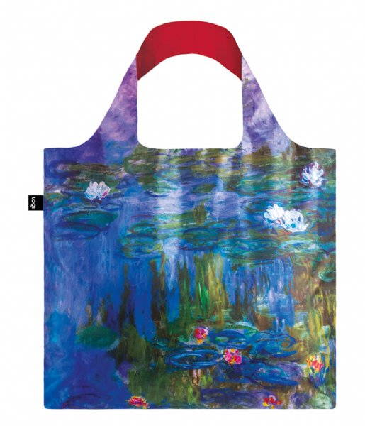 LOQI Shopper Foldable Bag Museum Collection water lilies