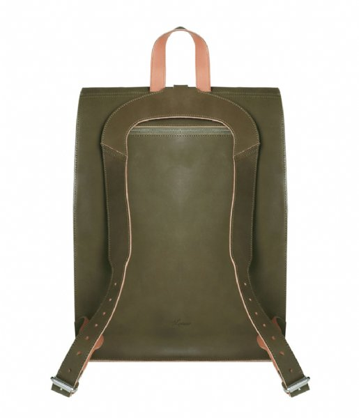 Laauw Laptop rugzak Nine Streets Laptop Backpack 15 Inch olive