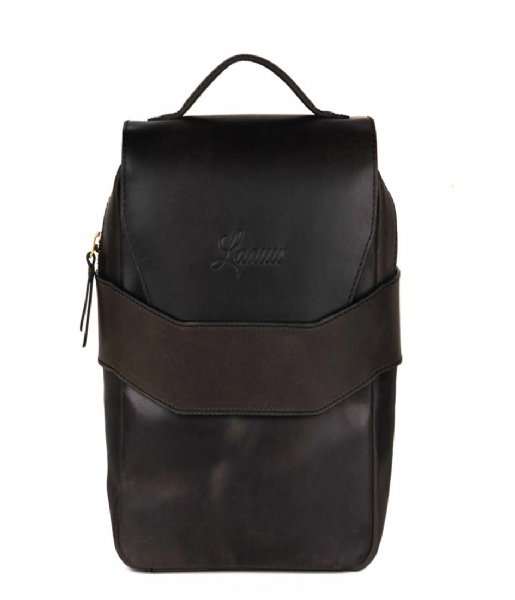 Laauw Dagrugzak Indi Bag dark brown