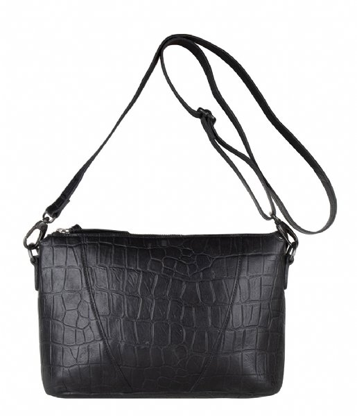 Legend Crossbodytas Badia Croco black
