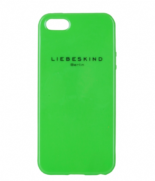 iphone 5 cover neon green liebeskind the little green bag. Black Bedroom Furniture Sets. Home Design Ideas