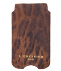Liebeskind-Smartphone covers-Suede Lux Galaxy S4 Cover-Bruin