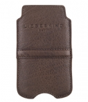 Liebeskind-Smartphone covers-Double Dyed iPhone 4 Cover-Bruin