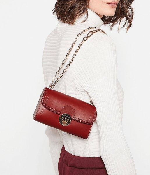 Liebeskind Crossbodytas Crossbody Small Buff Dylan dahlia red
