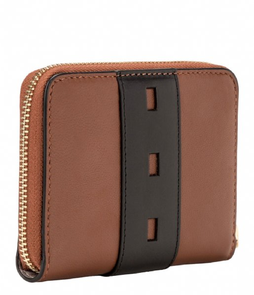 Liebeskind Ritsportemonnee Conny Wallet Medium Dive toffee