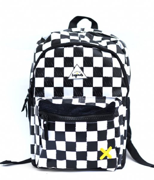 Little Legends Dagrugzak Backpack Large Checkerboard checkerboards (01)