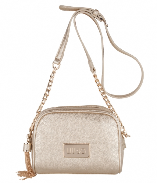 88408814c7 Tracollina Small Minorca Bag light gold (04178) Liu Jo | The Little Green  Bag