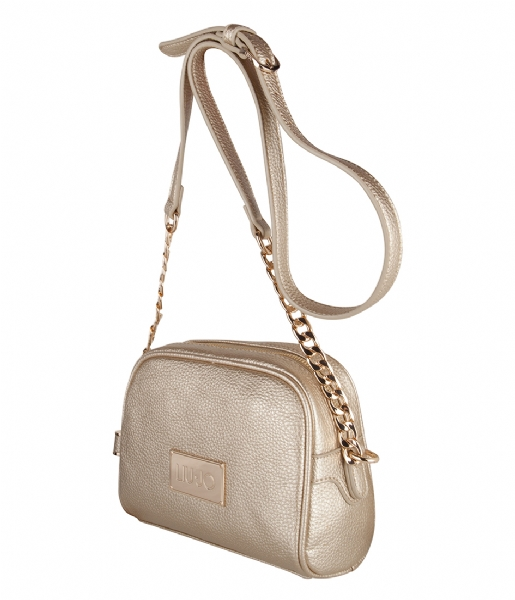 103a5a22cb Tracollina Small Minorca Bag light gold (04178) Liu Jo | The Little ...