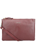 LouLou Essentiels Clutches Medium Beau Veau Rood