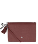 LouLou Essentiels Crossbodytas Bag XL Lovely Lizard Rood