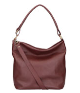 LouLou Essentiels Bag Beau Veau Dark Red