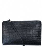 LouLou Essentiels Crossbody Clutch Classy Croc Black (1)